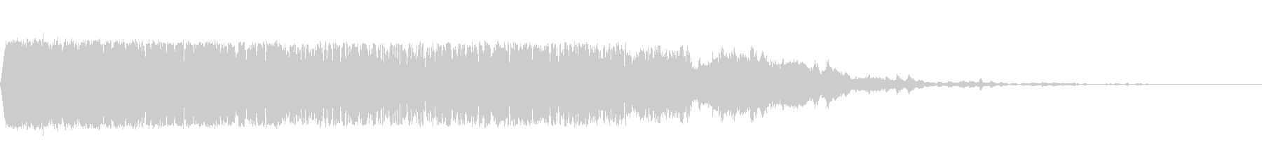 レーザーヒット、ロング6の未再生の波形