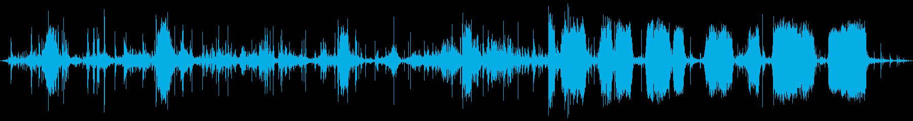 ラックトーチャー:クランキング、ボ...の再生済みの波形