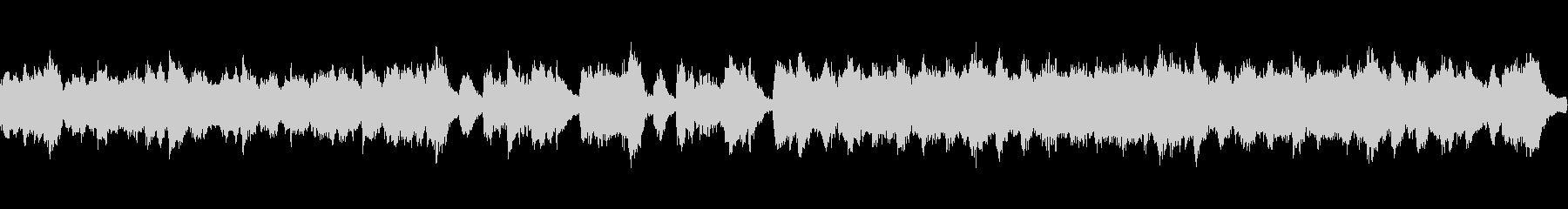 マリンバと木管のかわいらしい曲:ループ可の未再生の波形