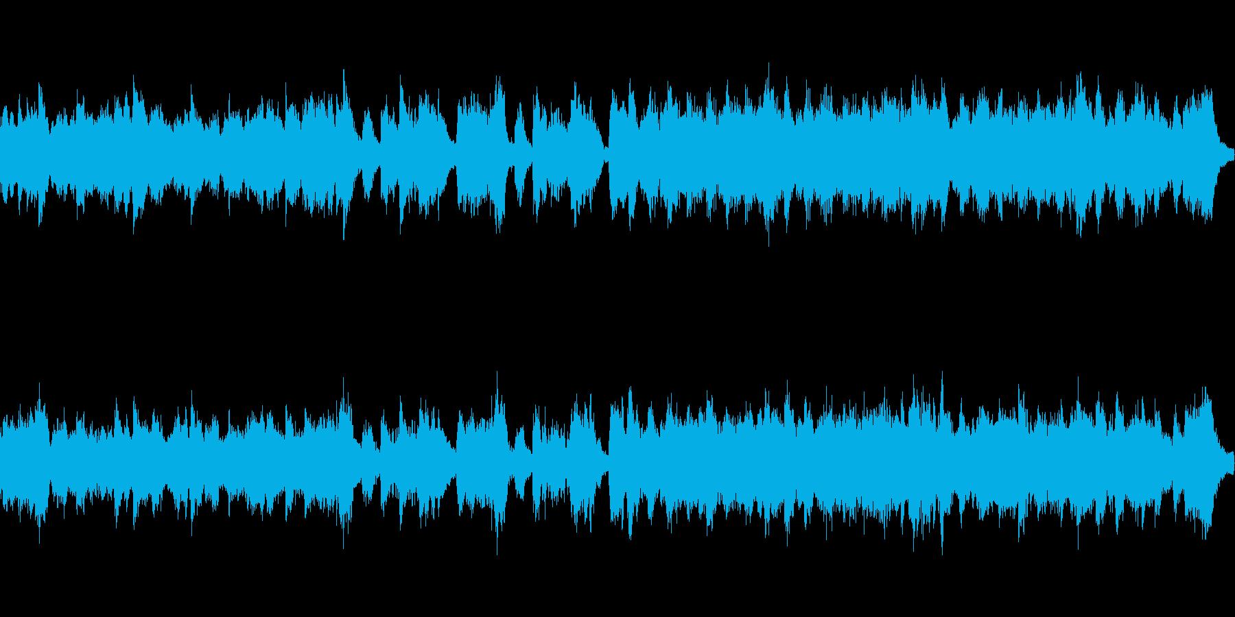 マリンバと木管のかわいらしい曲:ループ可の再生済みの波形