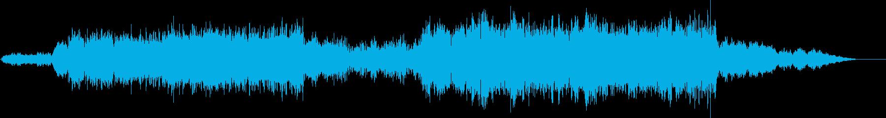 物語の始まりのオーケストラの再生済みの波形