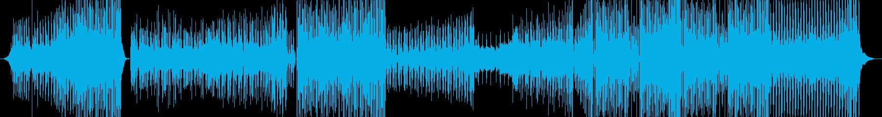軽快で優しいバウンスミュージック EDMの再生済みの波形