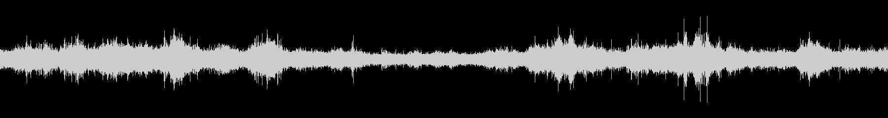 江ノ島海岸_岩場に打ち寄せる波_03の未再生の波形