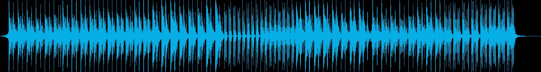 透き通る空-爽やか-PV-動画-BGMの再生済みの波形