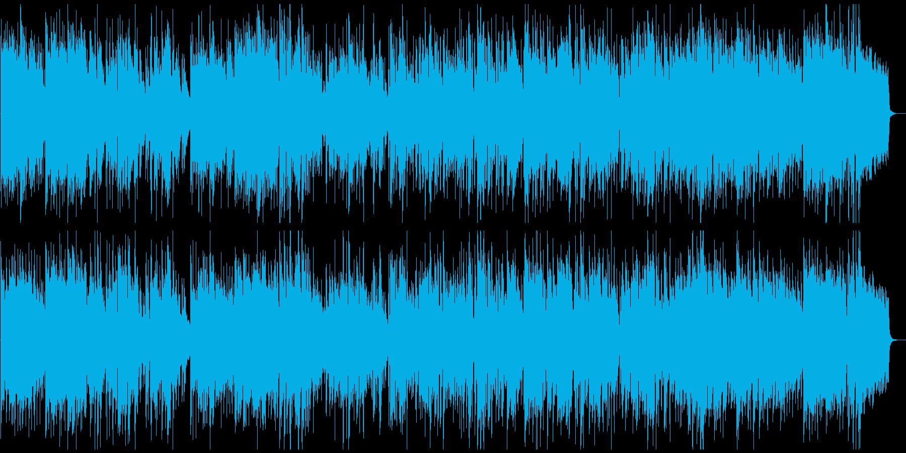 何かが始まる予感なアコースティックジャズの再生済みの波形