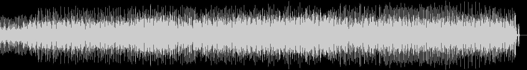 秒針音サンプリングテクノトラック420!の未再生の波形