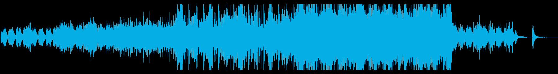 絶望に立ち向かうイメージのオーケストラの再生済みの波形