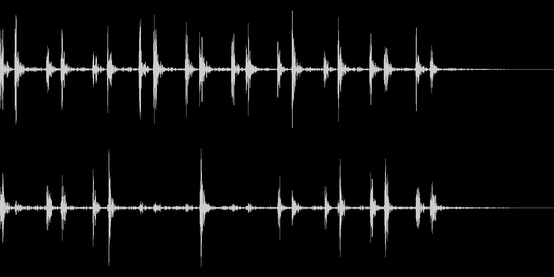 心臓の鼓動_その2の未再生の波形