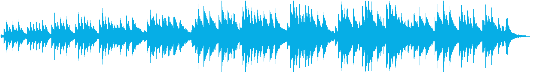 ロマンチック  入札 ピアノの再生済みの波形