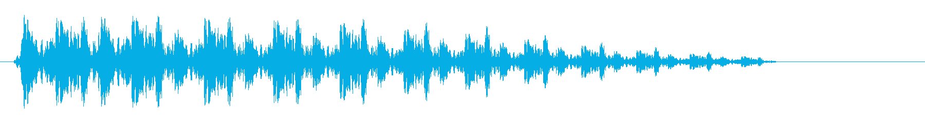 キュルルルン(宇宙を加速するバネ音)の再生済みの波形