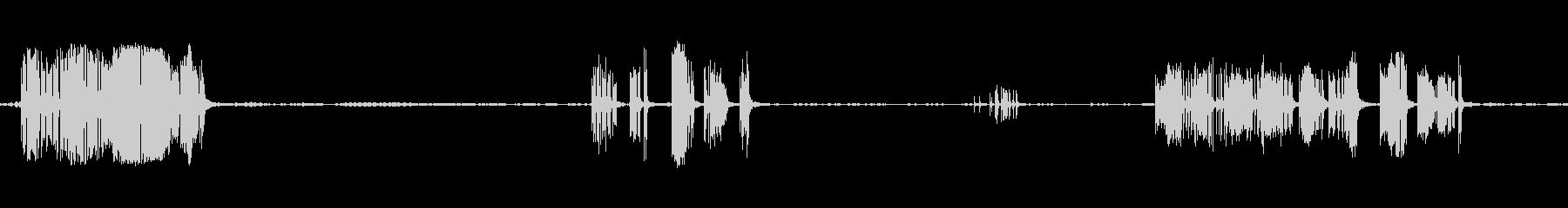 リッピングキャンバスシュレッドマル...の未再生の波形