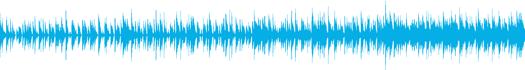 CM用30秒 軽快で妖艶なラテンポップの再生済みの波形