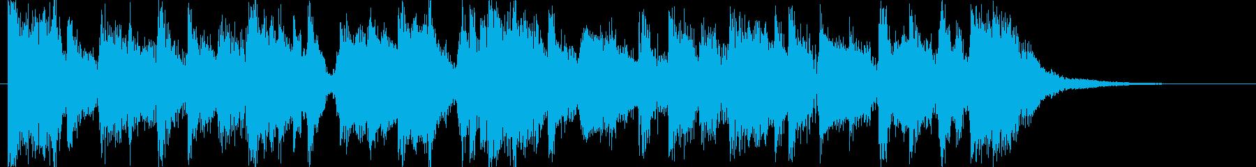 コーナータイトル_ファンキーチャイナの再生済みの波形