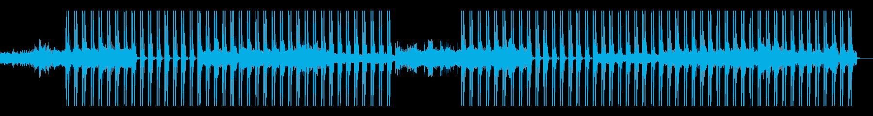 ディープ、ドープ、重い、低音、ハードの再生済みの波形