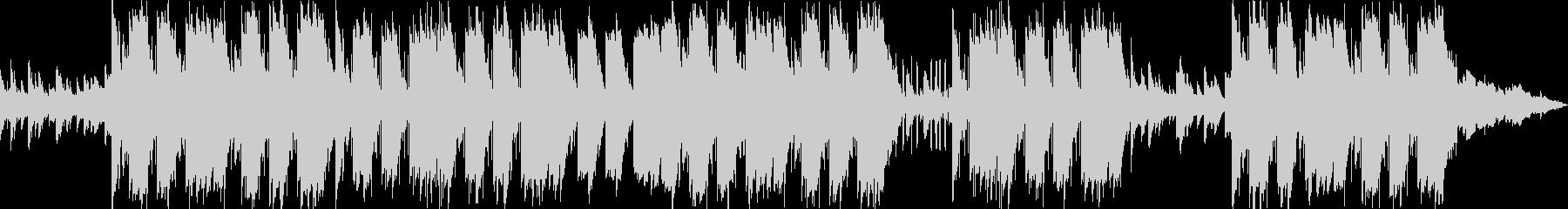 切なくエモーショナルなピアノトラップの未再生の波形