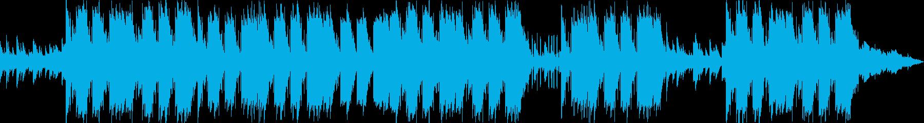 切なくエモーショナルなピアノトラップの再生済みの波形