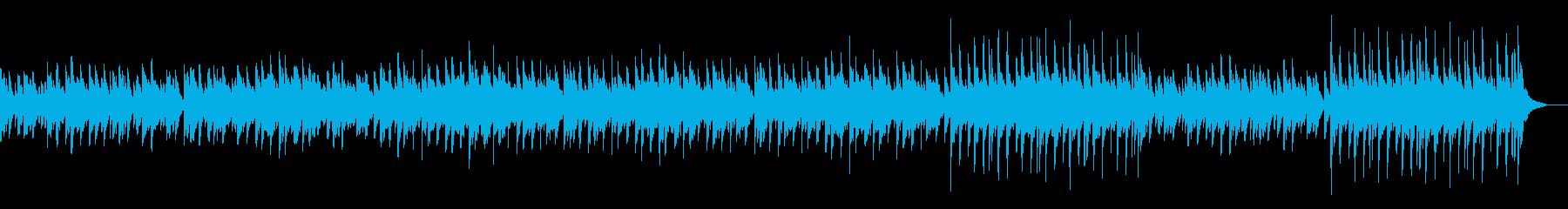 冬の映像にぴったりな感動系BGMの再生済みの波形