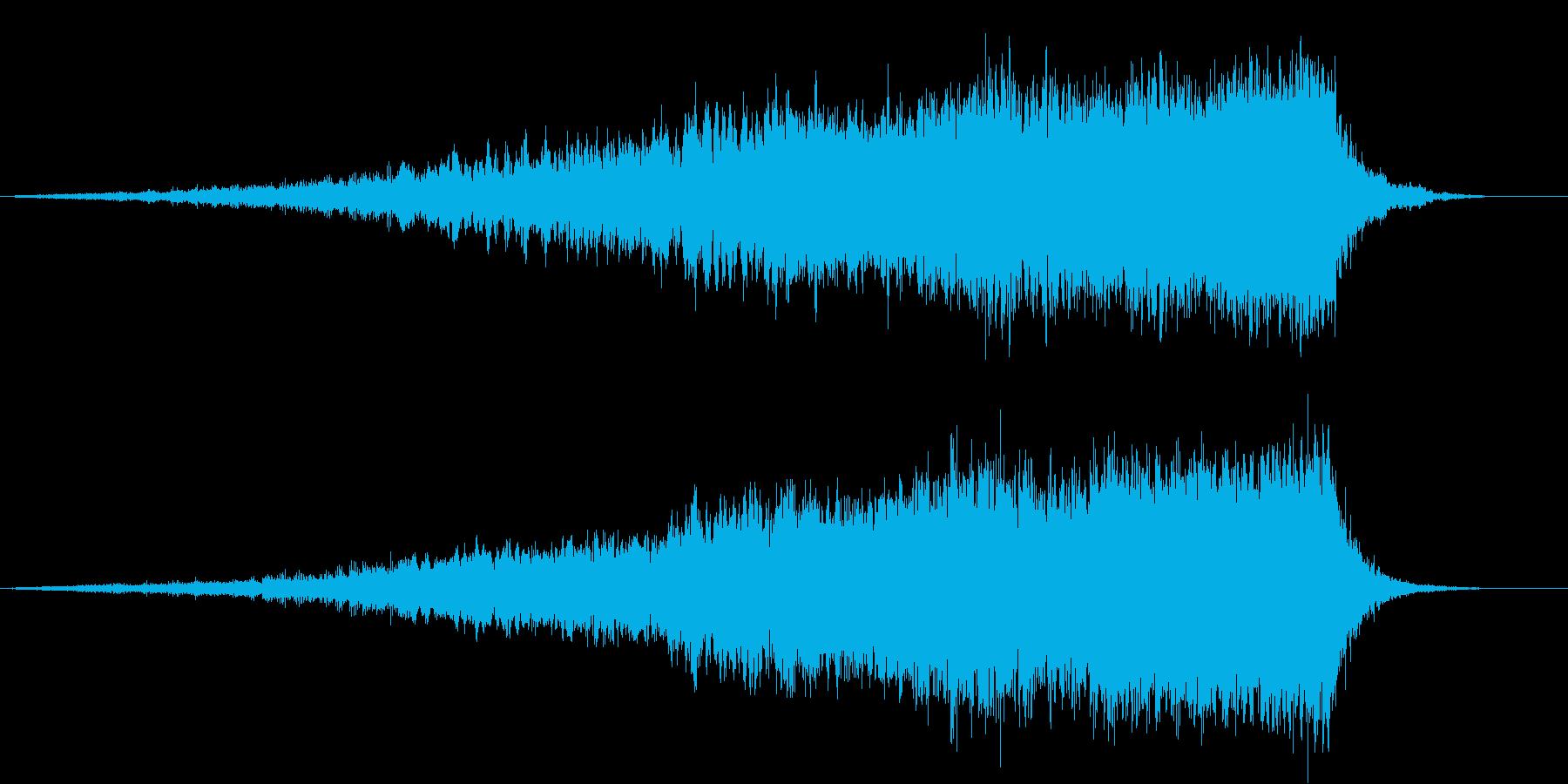 【ライザー】04 SFサウンドの再生済みの波形
