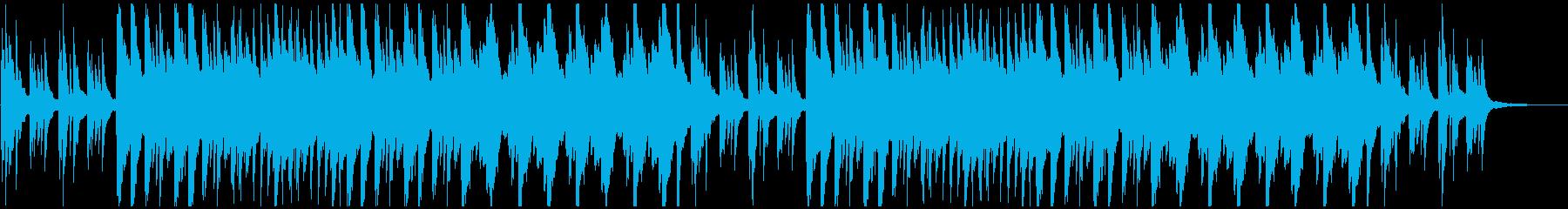 ピアノソロ上品清涼感企業PVの再生済みの波形