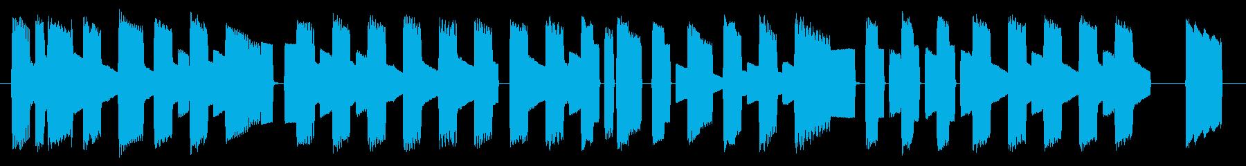 NES スポーツ A01-1(タイトル)の再生済みの波形