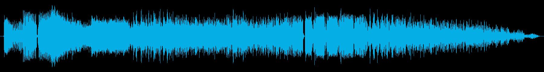 信号発生器の再生済みの波形