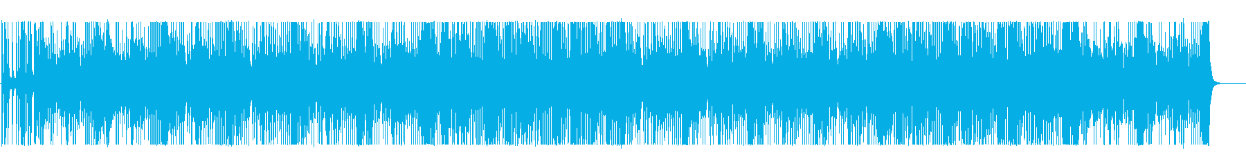 The synth sound is mysterious BGM's reproduced waveform