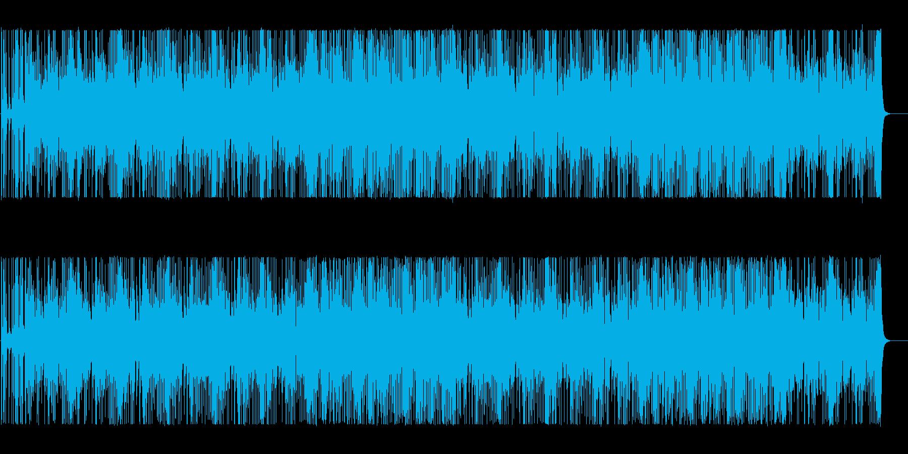 シンセ音がミステリアスなBGMの再生済みの波形