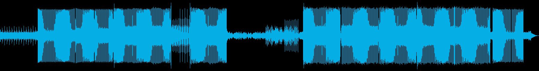 ハウスコマーシャルとファンク。の再生済みの波形
