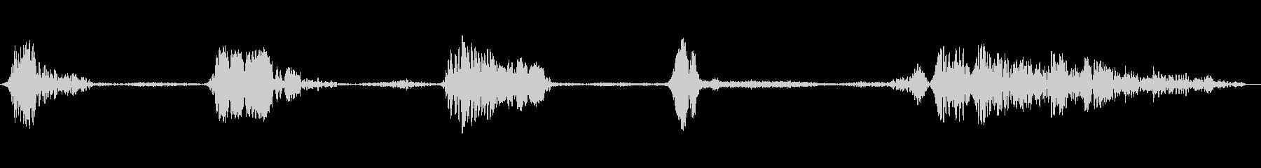 大型クリーチャー:成長と呼吸、SC...の未再生の波形