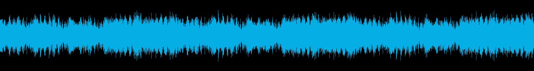 ファンター・ピアノソロ・シンプルループの再生済みの波形
