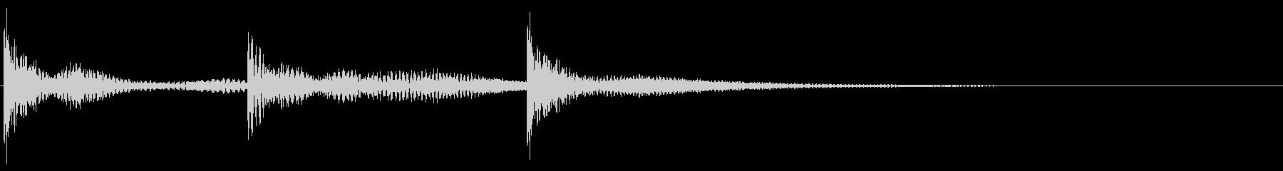 ティンパニ:バウンスアクセント、漫...の未再生の波形
