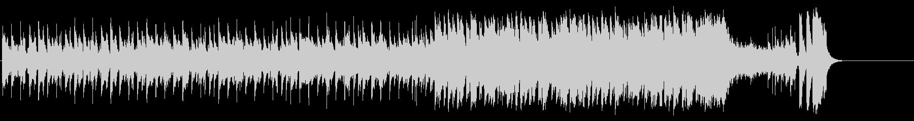 和やかなポップ BGM(イントロ~A…)の未再生の波形