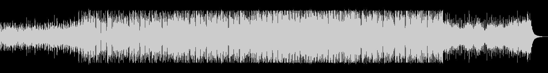 ラテン系のノリノリなサウンドの未再生の波形