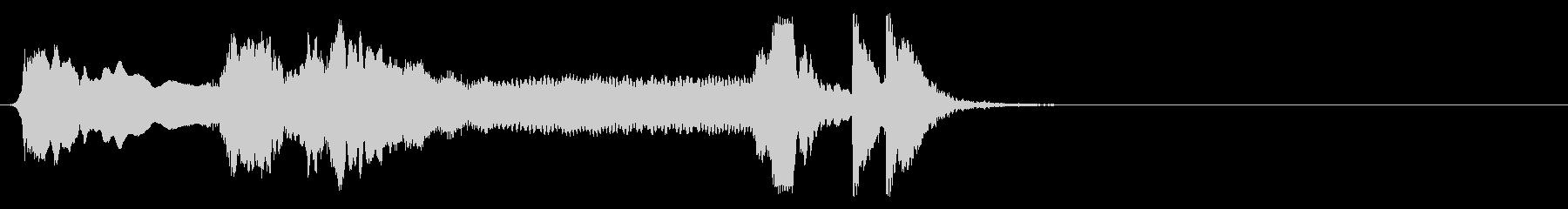 和風 掛け声とツツミ2 令2/4/24の未再生の波形