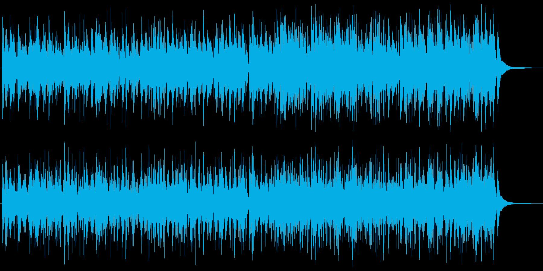 ゆったり・癒やしのケルトハープBGMの再生済みの波形