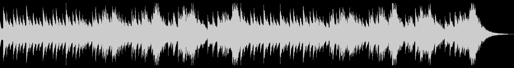 ホラーな雰囲気のオルゴール BGMの未再生の波形