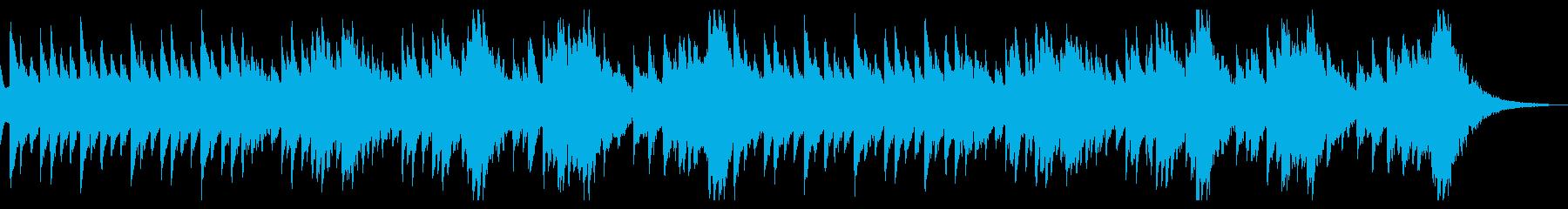 ホラーな雰囲気のオルゴール BGMの再生済みの波形