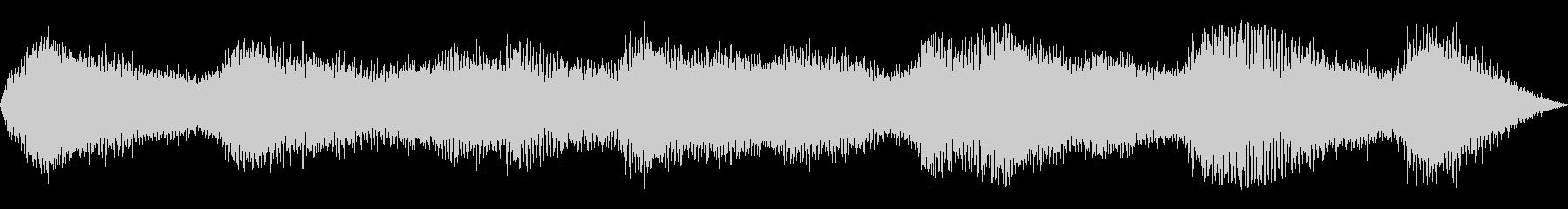 ヒグラシ(セミの鳴き声) の未再生の波形