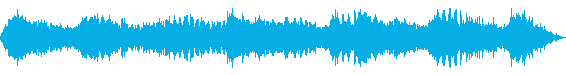 ヒグラシ(セミの鳴き声) の再生済みの波形