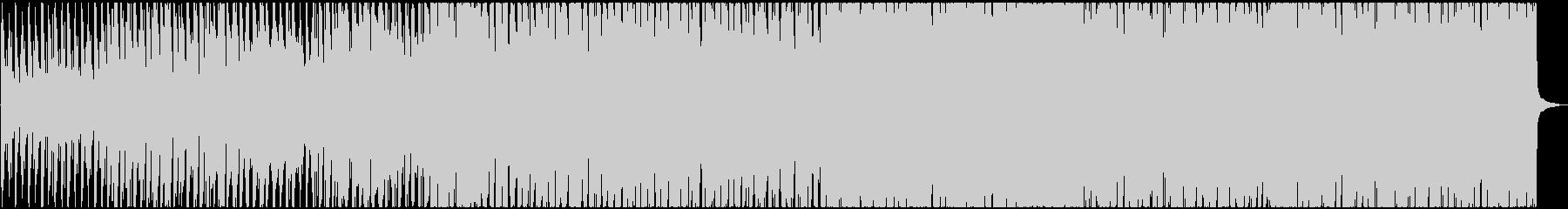 シンセを使用したラテン音楽。の未再生の波形