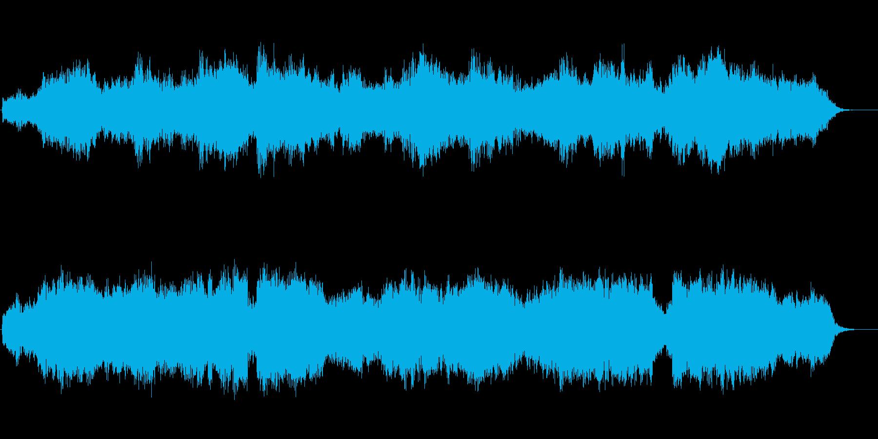 アヴェ・ヴェルム・コルプス 弦と木管の再生済みの波形