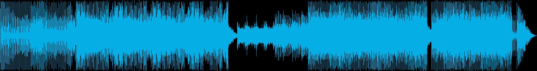トランス、サイケデリック。の再生済みの波形
