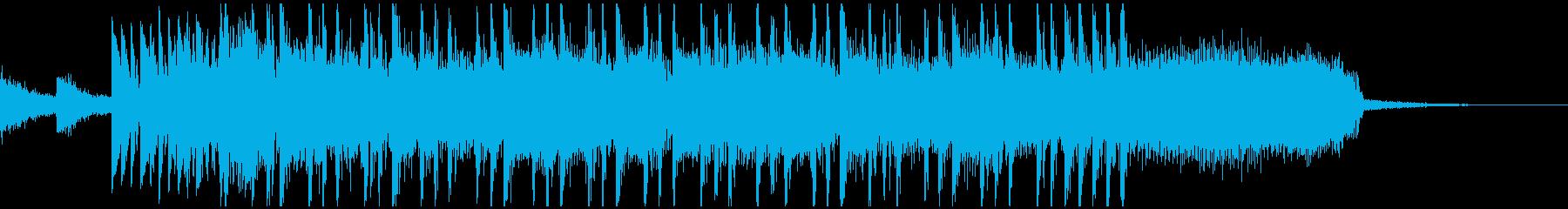 場の雰囲気を変えるメタルジングルの再生済みの波形