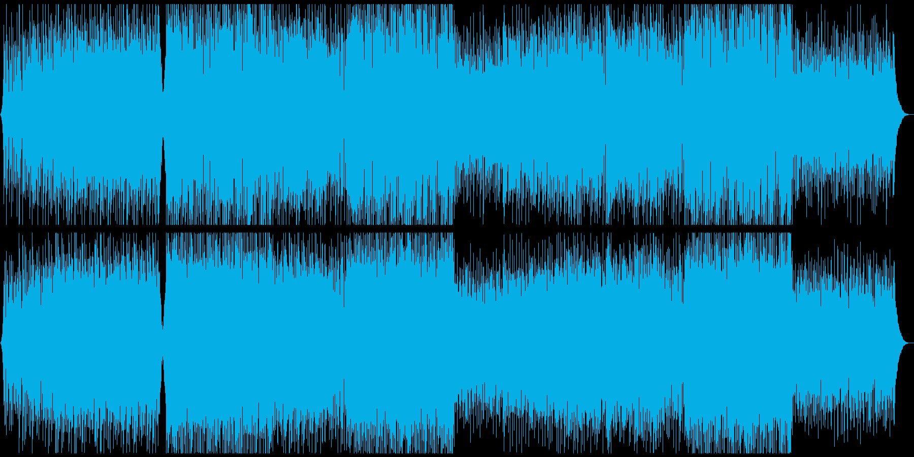 企業向ギター爽やかオープニング感動ポップ(ロング)の再生済みの波形