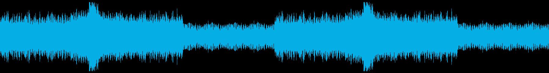 スパークする激しいバトル・ピアノロックの再生済みの波形
