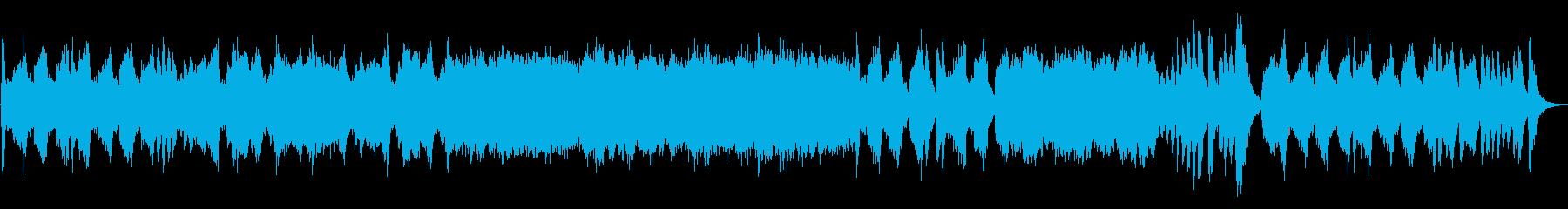 モダンな弦楽四重奏の再生済みの波形