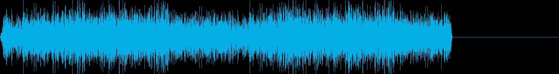 工場 工業地帯 ノイズ 機械音の再生済みの波形