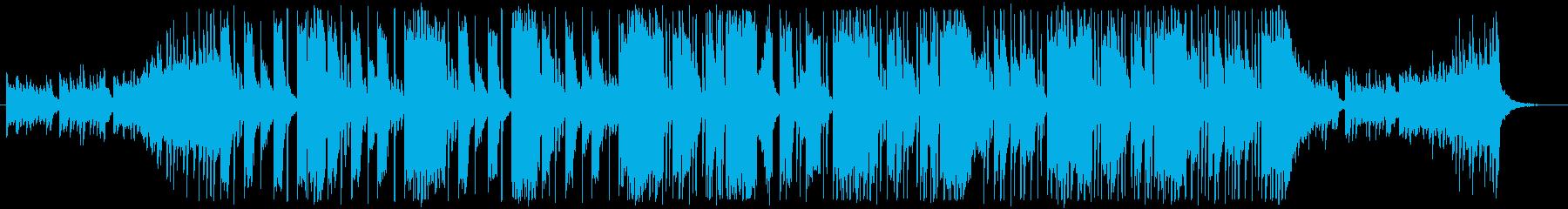 【インパクト】ポップで疾走感のあるEDMの再生済みの波形