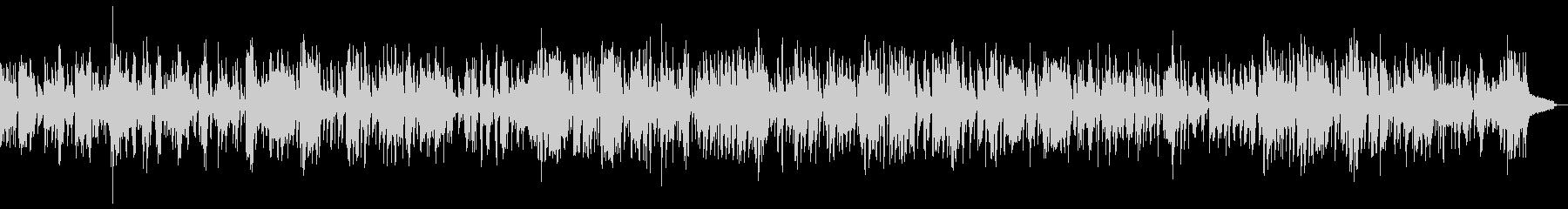 SAXソロの落ち着いたスロージャズの未再生の波形