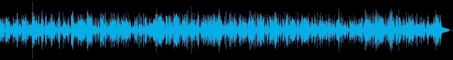 SAXソロの落ち着いたスロージャズの再生済みの波形